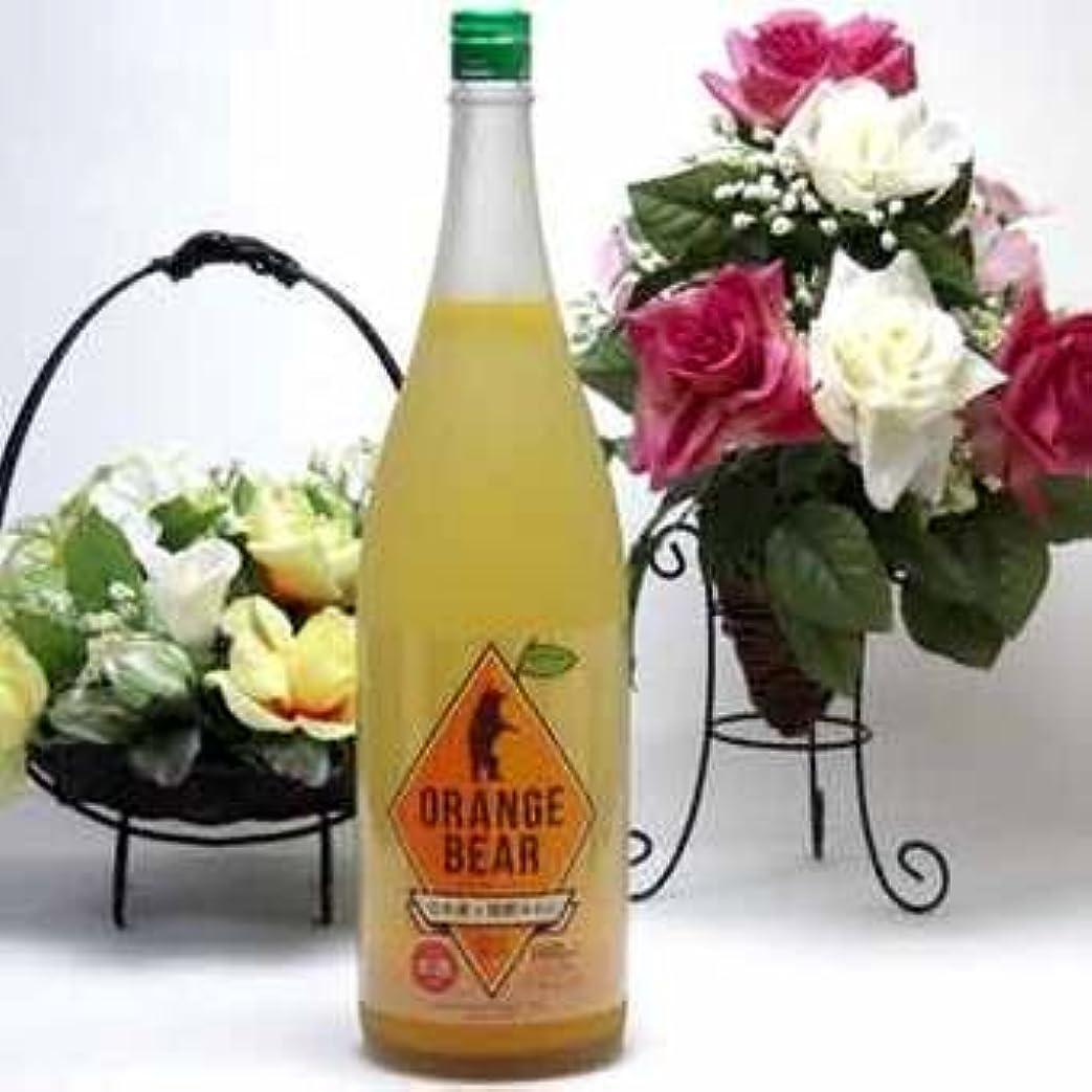 6本セット 元坂酒造 ORANGE BEAR日本酒×熊野オレンジ 720ml×6本(三重県)