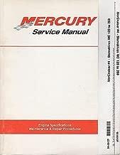 MERCURY MERCRUISER #4 STERNDRIVES MC 120-160 P/N 90-86137 SERVICE MANUAL (617)
