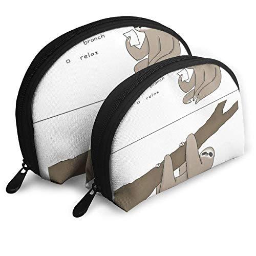 Trousse de Maquillage Arbre Branche Portable Organisateur de Toilette Shell pour Les Femmes Voyage Pack - 2
