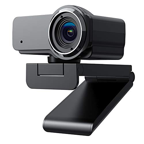 1080P HD Webcam with Microphone, Sony Sensor, AW635 Web Cam USB Camera, Streaming Computer Camera w/Mic for PC Desktop Laptop, 110° Wide Angle Lens for Video Calling, Recording, Conferencing