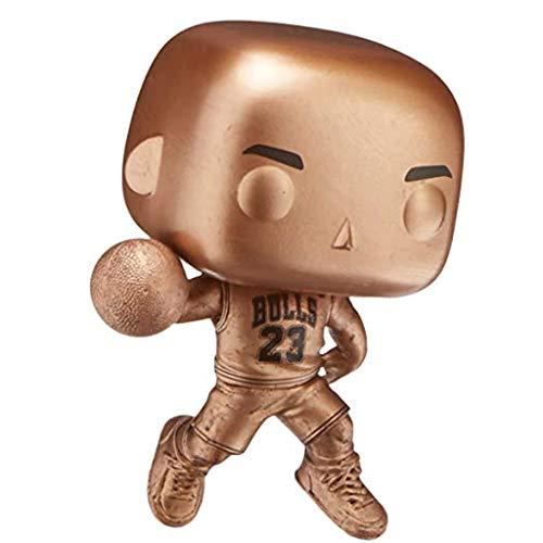 Lotoy Funko Pop Basketball : Bulls - Michael Jordan (Exclusive) Vinyl 3.75inch for NBA Fans Model