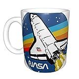 Tazza della NASA, divertente tazza fumetto anime gioco caffè latte tè sensibile al calore tazza cambia colore magico tazza per amici