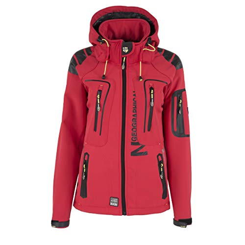 Geographical Norway Tislande Damen Softshell Jacke Corail Gr. XL
