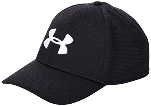 Under Armour Blitzing II - Gorra, Hombre, Negro (Black/White 022), M/L
