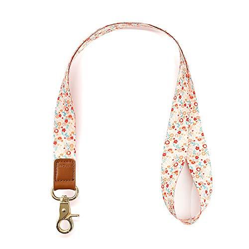 INNObeta Schlüsselband Umhängeband für Schlüssel, Telefon, Doppelseitiger Druck in Voller Farbe Umhängeband mit Hoher Qualität Gelbe Blume