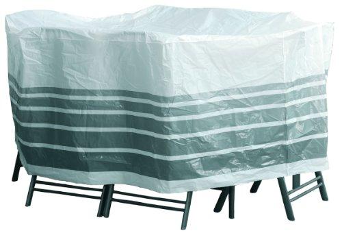Sanifri 470013324 Housse de protection pour ensemble table ovale et 6 sièges