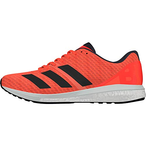 adidas Adizero Boston Boost 8 Womens Running Shoes - Orange-4.5