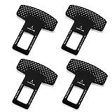 4 PCS Car Seat Belt Clip,Universal Seat Belt Buckle Auto Metal Seat Belts Clip