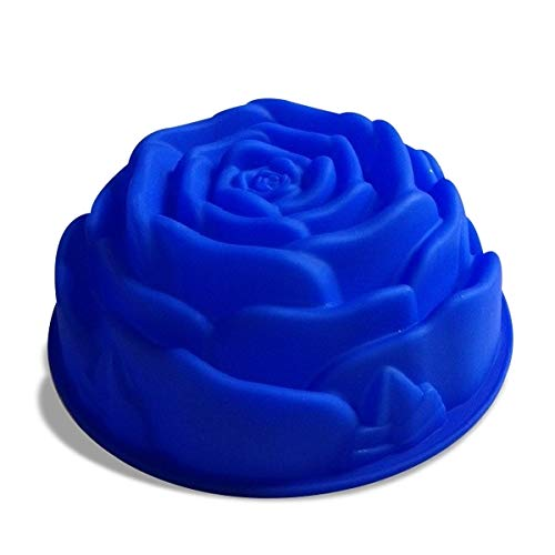 Eurrowebb Moule en Silicone en Forme de Rose 24 cm