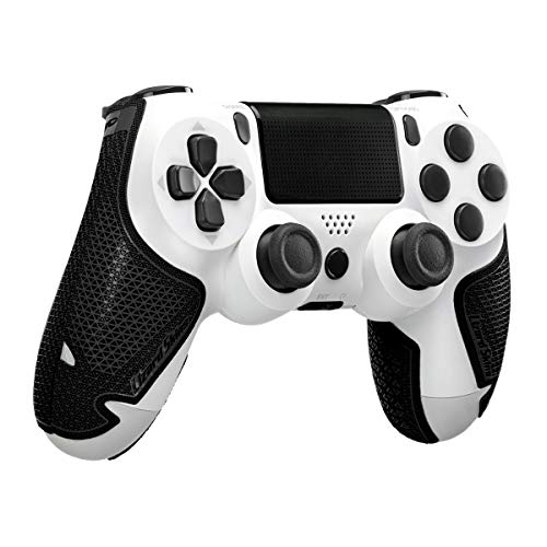 Lizard Skins DSP Controller Grip for PS4 Controllers – PS4 Gaming Grip - Playstation 4 Compatible Grip 0.5mm Thickness - PRE Cut Pieces - Easy to Install – 10 Colors (Jet Black)