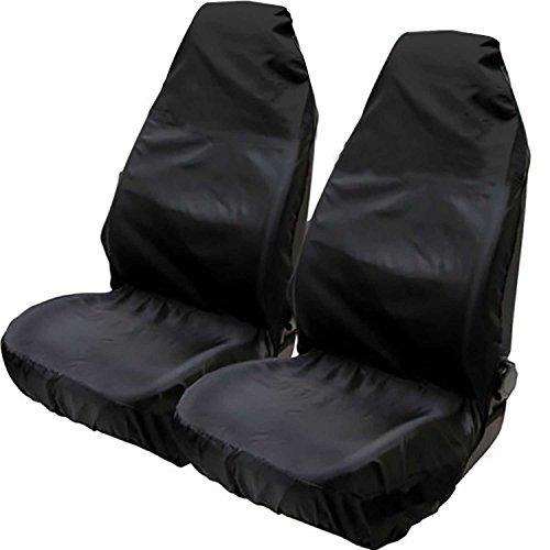 Hiveseen 2St Schonbezug Autositz Universal, Wasserfestem Staubdicht, aus Kunstgewebe, 75x55x55cm Passend für 99{100c8e54e4635208aaa9f63d62646d514131041ca98bcca130be6111cd1da6de} Auto, PKW/KFZ Sitzschoner, Werkstatt Autositzbezüge Für Fahrersitz Vordersitze