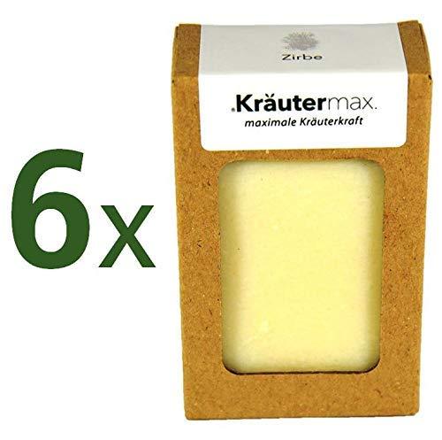 Kräutermax Zirbe Seife 1 x 600 g für empfindliche Haut