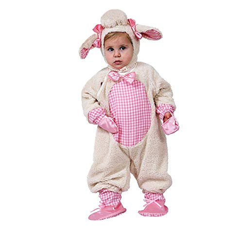 Dress Up America Costume mignon d'agneau de pâturage , 12-24 mois , Rose-Pink , 12-24 mois