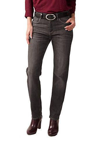 STOOKER Zermatt Damen Slim Fit Stretch Jeans My Favs Collection (42 (32/30), 5518 fossil Taupe)