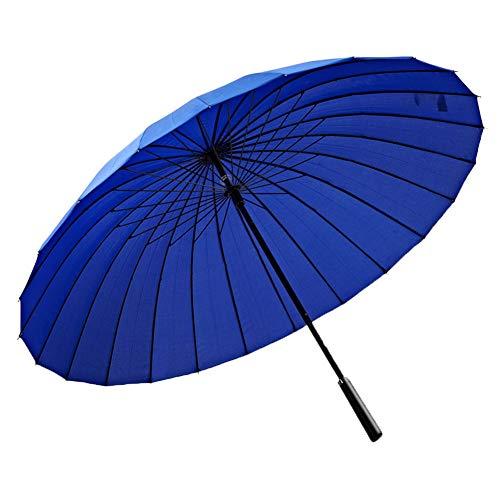 Umbrella 24 Bone Automatic Folding Doppelschirm, Anti-Storm, Stark Wasserabweisend