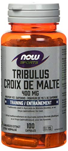 NOW Tribulus 400mg 45% Extract 100 Capsules, 100 g