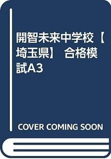 開智未来中学校【埼玉県】 合格模試A3