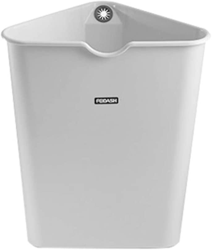 Triangle Space-Saving Trash Can for Corner Courier shipping free shipping Durable Gallon Latest item 2.6 P