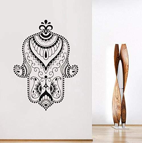 miaoqiushiyi Hand Der Göttin Vinyl Aufkleber Buddhismus Symbol Wandbehang Boho Stil Hand Von Fatima Aufkleber Indian Amulet Murals