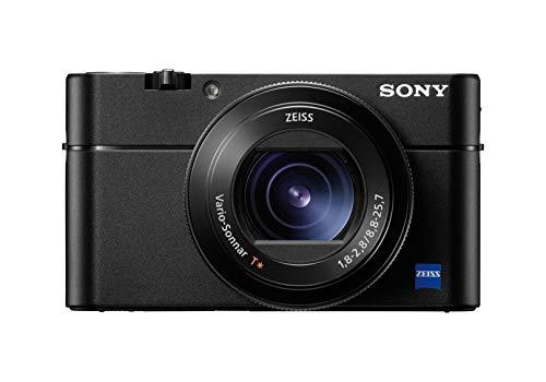 Sony DSC-RX100M5A Fotocamera Digitale Compatta Premium con Sensore da 1', Ottica Zeiss 24-70 mm F1.8-2.8, Elevate Prestazioni di AF (0.05 sec.) e Velocità (24 FPS), Video 4K, Ne