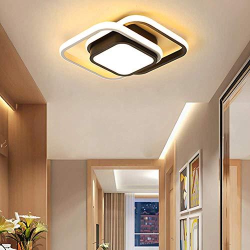 Plafón LED de Techo, 26W Lámpara de Techo, Plafón Moderno para Baño, Dormitorio, Pasillo, IP54, 3000 K (Luz Cálida)