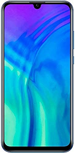 Honor 20 Lite Smartphone Bundle (15,77 cm (6,21 Zoll) AllView Display, Al Triple-Kamera, Dual Nano-SIM, 128 GB interner Speicher, Android 9.0) Phantom Blue + gratis Classic Earphones
