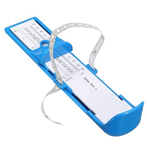 Haokaini Medidor de Pie para Niños Adultos Zapatero Comprando Zapatos en Línea con Un Medidor de Pie Regla Herramientas