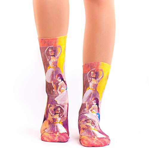 Wigglesteps Lady Socks DEGAS TWO DANCERS