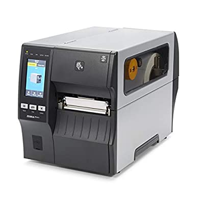 Zebra ZT411 Thermal Transfer Industrial Printer 300 dpi Print Width 4 in Serial USB Ethernet Bluetooth Peeler with Full Rewind ZT41143-T410000Z