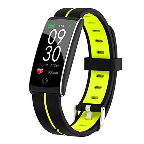 Wsaman Smartwatch Kalorienzähler, Fitness Tracker Fitness Fitness Armbanduhr Activity Tracker mit Touch-Screen-IP68 Wasserdicht für Android/iOS/Männer/Frauen, Aktivitätstracker,Grün