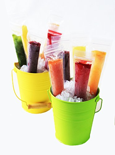 Zipzicle Ice Pop Pouch, 36-Pack, Clear