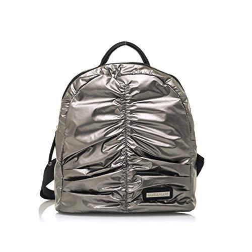 Maria Mare IDALIA, Women's Backpack (Silver)