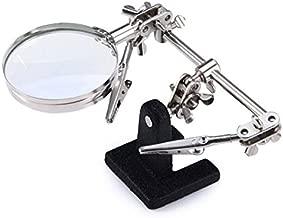 euroxanty-lupa occhiali con luce LED Set di 3/lenti intercambiabili 1.5/X 2.5/X 3.5/X Nero
