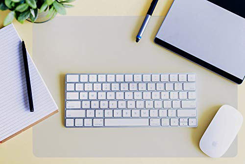 Desktex Schreibtischunterlage, rund, rutschfest Rutschfestes Polycarbonat 19