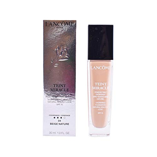 Lancôme Teint Miracle Bare Skin foundation SPF15, 04 Beige Nature, 1 x 9 ml