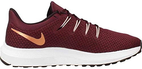 Nike Quest 2, Zapatillas de Running Mujer, Night Maroon/Metallic Copper