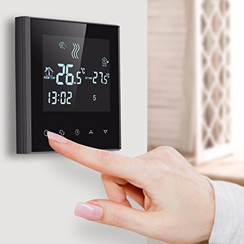 KUNSE WiFi Fußbodenheizung Thermostat 6 Periode Programmierbare Steuerung Temperatur Heizungs Werkzeug