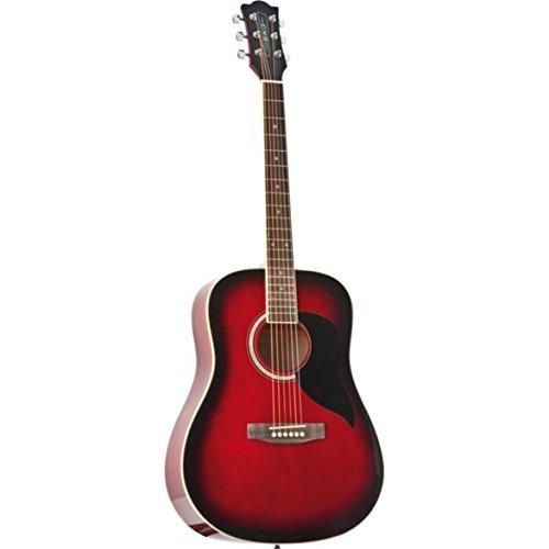 Eko Ranger 6 RED SBT chitarra acustica folk classic tavola abete