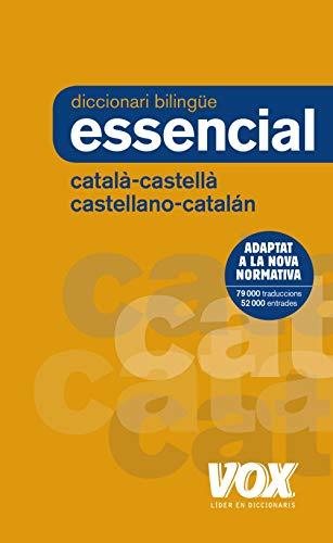 Diccionari Essencial Castellano-Catalán / Català-Castellà (VOX - Lengua Catalana - Diccionarios Generales)