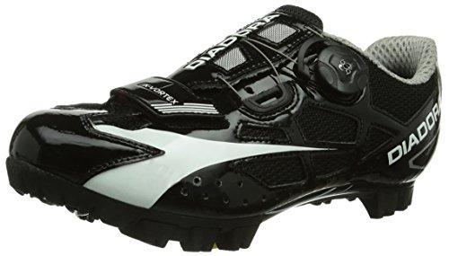 Diadora X- Vortex, Unisex-Erwachsene Radsportschuhe - Mountainbike, Schwarz (schwarz/weiß 6410), 45.5 EU