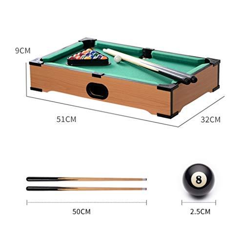 LCRACK Billard-Set Mit Bällen, Billardtisch, Zubehör Zum Snooker Drinnen Draußen (Farbe : A)