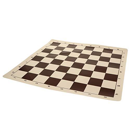 STOBOK Roll Up Torneio de Xadrez Tabuleiro de Xadrez Arregaçar Xadrez Mat Mat Almofada Xadrez Jogos de Xadrez de Viagem Portátil Acessórios para Crianças Adultos Xadrez Amante 20. 04In