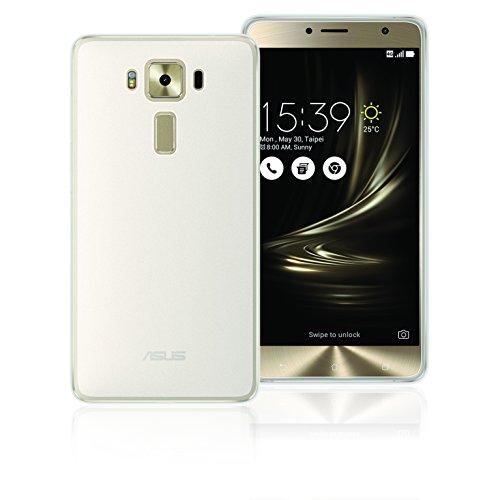 Phonix ASD55GPW Schutzhülle Gel Protection Plus, 13,97 cm (5,5 Zoll) mit Bildschirmschutzfolie für Asus Zenfone 3 Deluxe (ZS550KL)