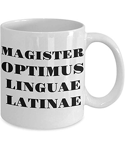 Regalo Para El Profesor De Latín Profesor-Hombre-Café Taza De 11 Onzas O Taza De Té ¡Envíos Gratis Para Nosotros!