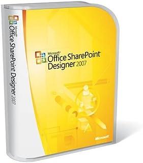 Microsoft SharePoint Designer 2007 - Software de desarrollo (1 usuario(s), 2000 MB, 256 MB, Pentium 500 MHz, Win32, Microsoft Windows XP Service Pack (SP) 2 + Microsoft Windows Server 2003)