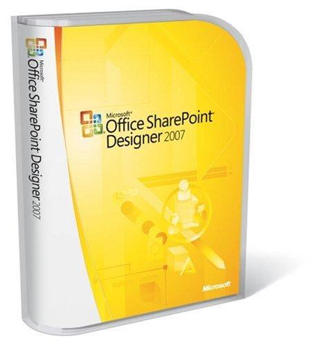 Microsoft Office 2007 SharePoint Designer Edition (PC) [Import]