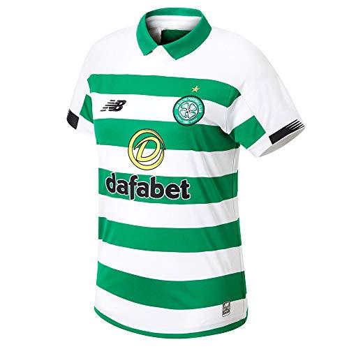 New Balance Herren Celtic FC 2019/20 Home Ss Jersey Poloshirt S Home