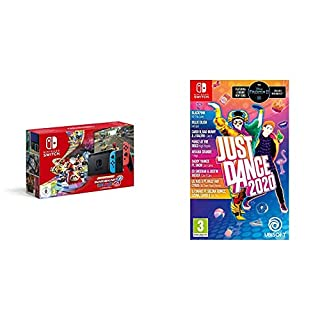 Nintendo Switch (Neon Red/Neon Blue) with Mario Kart 8 Deluxe - Limited Edition Bundle + Just Dance 2020 (B0829GHCF9) | Amazon price tracker / tracking, Amazon price history charts, Amazon price watches, Amazon price drop alerts