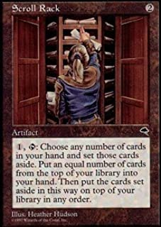 Magic: the Gathering - Scroll Rack - Tempest