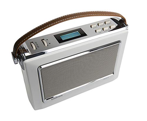 Goodmans Oxford 2 Radio Dab + Bluetooth Porcelana
